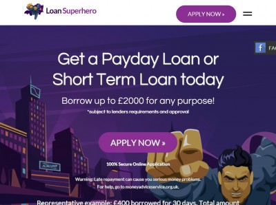 Stovin ventures into the Payday loan market with Loan Superhero