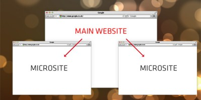 Microsites a more effective way to build links